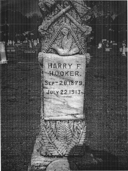Harry Hooker Headstone